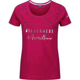 Regatta Filandra III T-Shirt Women Dark Cerise